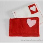 Valentine Felt Envelope Craft