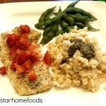 Panko Crusted Cod #recipe #fivestarhomefoods