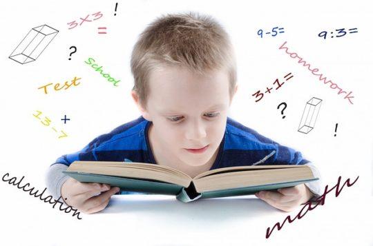 Child prepare for school
